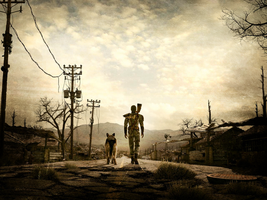 -Fallout 3-Open Road- by Rascal123