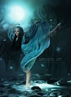Moonlight Dancer by LadySerenataArt