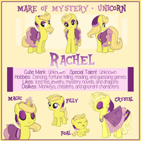 Rachel Reference Sheet by Astanine