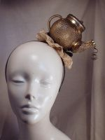 Time For A Mad Tea Party Headband Fascinator by PoniesOfDOOOM