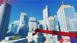 Mirror's Edge Desktop by lapinlunaire