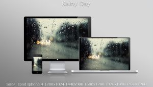 Rainy Day Wallpaper by kionee