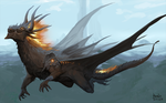 August Dragon by Pacelic
