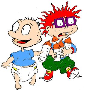 Rugrats_Tommy_and_Chuckie_by_Rugrats_Clu
