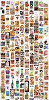 2014 Sometimes Foodie Collage by chat-noir
