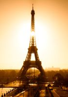 Sunrise on Eiffel Tower by Engazung