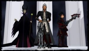 KH3 - The Villains Three by todsen19