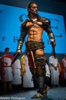 Leon Chiro on the Stage for CRYTEK \ Ryse: SoR by LeonChiroCosplayArt