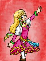 Skyward Sword: Zelda by Shey22