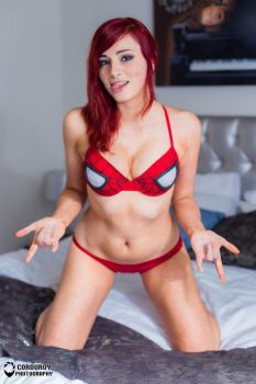 Does whatever a spider can - Lingerie by KaylaErinOfficial