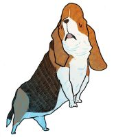 Basset hound the second by Mensaman