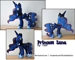 Princess Luna will watch over your dreams by SakuSay