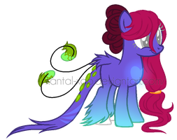 ~Adoptable~. [OTA] Female Pony :CLOSED: by XantaL-XGB