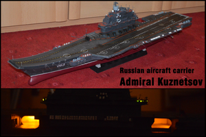 1/350 Russian aircraft carrier Admiral Kuznetsov by janda700