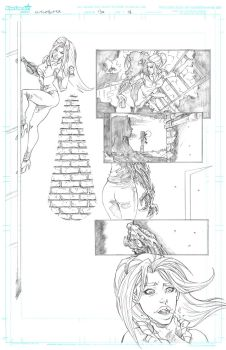 Witchblade 134 Page 18 by Patrick-Hennings