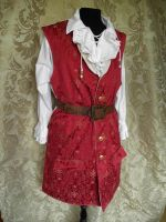 Captain Teague inspired waistcoat PCW5-1 by JanuaryGuest