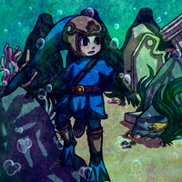 Underwater Link by Zeepla