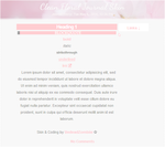 Clean Floral Themed Journal Skin by UndeadZombiie