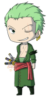 Roronoa Zoro by Sakura-Rose12