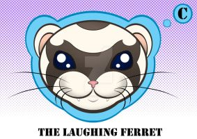 The Laughing Ferret Color by BooBooKittyPurr