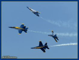 2011 Blue Angels 1 by Dracoart