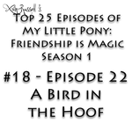 Top 25 FiM S1 Episodes - #18 A Bird in the Hoof by Xain-Russell