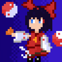 Reimu by AndruMouse