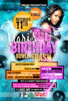 Bowling Bash Flyer by AnotherBcreation