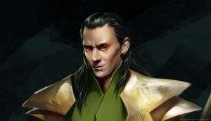 Loki in process by Sinto-risky