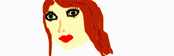 Red Haired Girl by Caitin