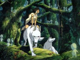 Princess mononoke by Bebop27