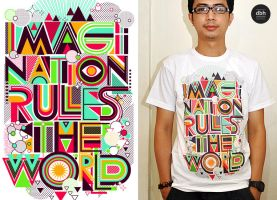 Imagination rules the World by dzeri