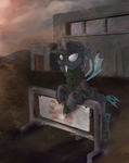 Fallout Equestria Flint OC Commission by Kna