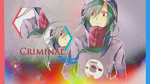 Criminal project logo - kagerou ene by FannyMusic