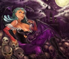 Morrigan by f-wd