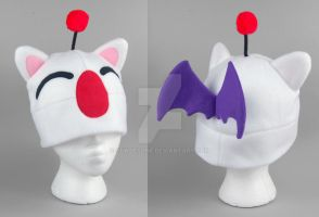 Moogle Hat by SewDesuNe