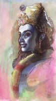 Krishna by jether