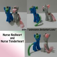 Nurse Redheart and Nurse Tenderheart by AnimeAmy