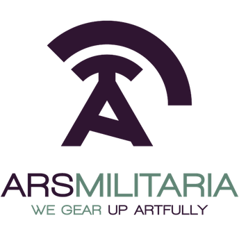 Ars Militaria group header/logo|Purple/turquoise by Orphydian