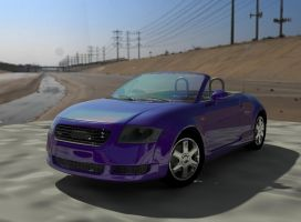 audi in 3D by K-NIGHT-WIND