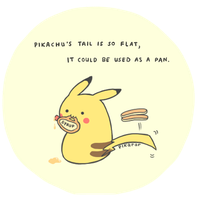 Pikachu's Tail by pikarar