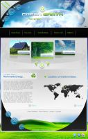 Green Earth Web Design by walcor