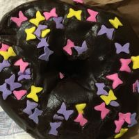 Butterfly Choco Donut by MikariStar