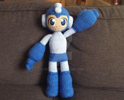 Megaman Crochet by telshira