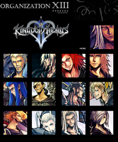 Organization XIII Icon by blackdx