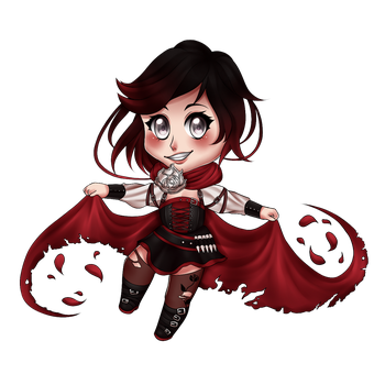 Ruby Rose Chibi by LOUISalem