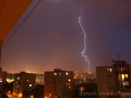 Lightning 3 in Kosice , Slovakia , 8.7.2012 by sparcosk