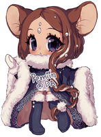 Annie Day 07 Deer Mouse! by Yamio