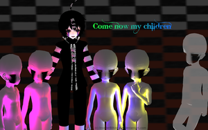 MMD FNAF - Come now my children by InvaderBlitzwing