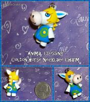 Animal Crossing New Leaf - Colton the Horse Charm by YellerCrakka